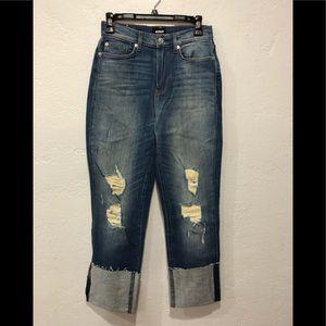 Hudson high rise denim jeans